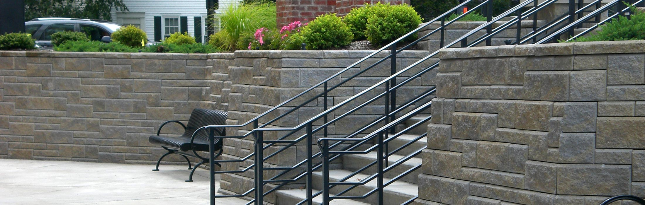 Retaining Wall Westbrook Concrete Block